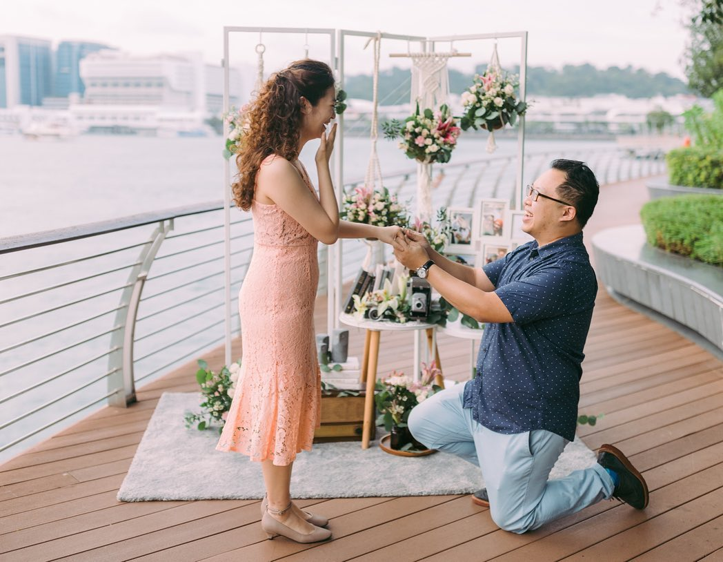 proposal in singapore