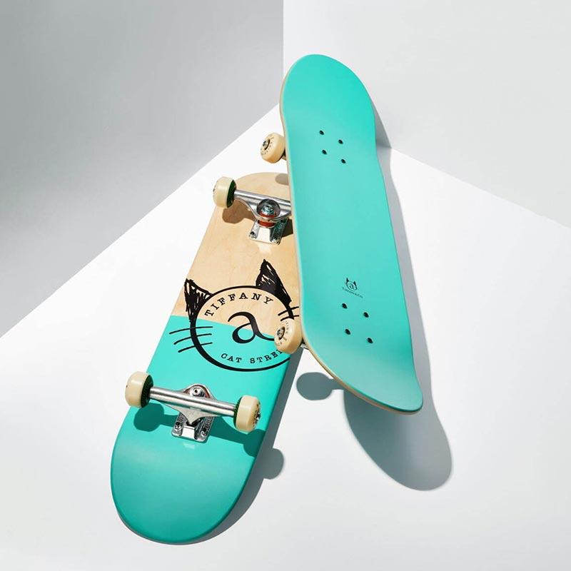 Tiffany & Co. Sports Gear Skateboard