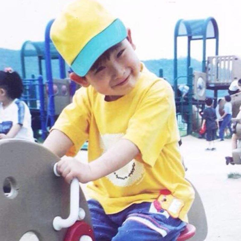 Wonho Facts Childhood Photo