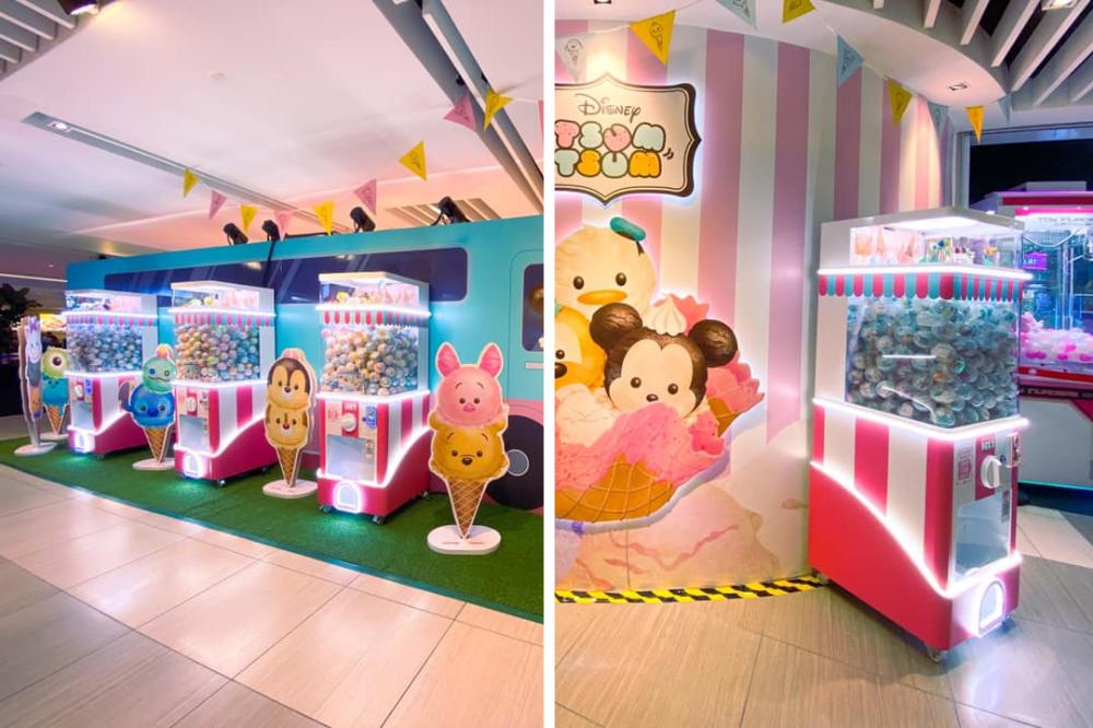 Tsum Tsum Ice Cream Kiosk Gacha