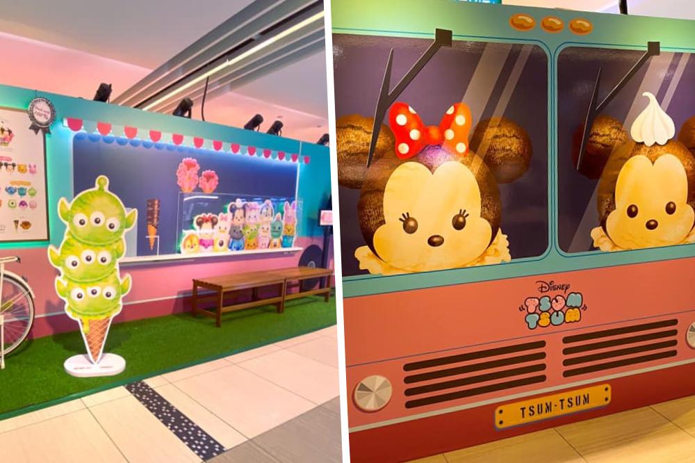 Tsum Tsum Ice cream Truck