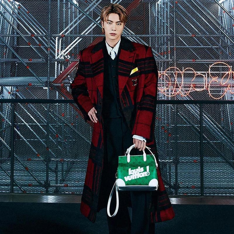 BTS Louis Vuitton Jin
