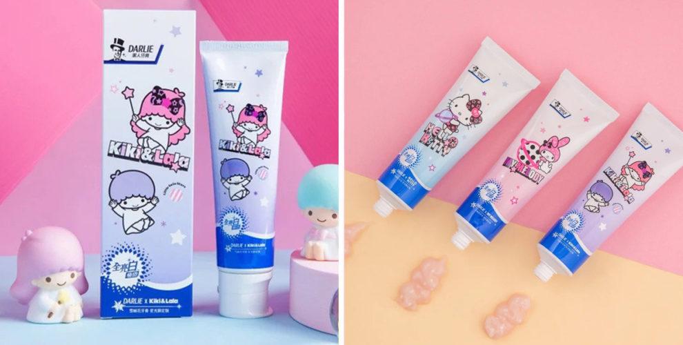 darlie toothpaste sanrio