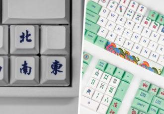 Mahjong Keycaps
