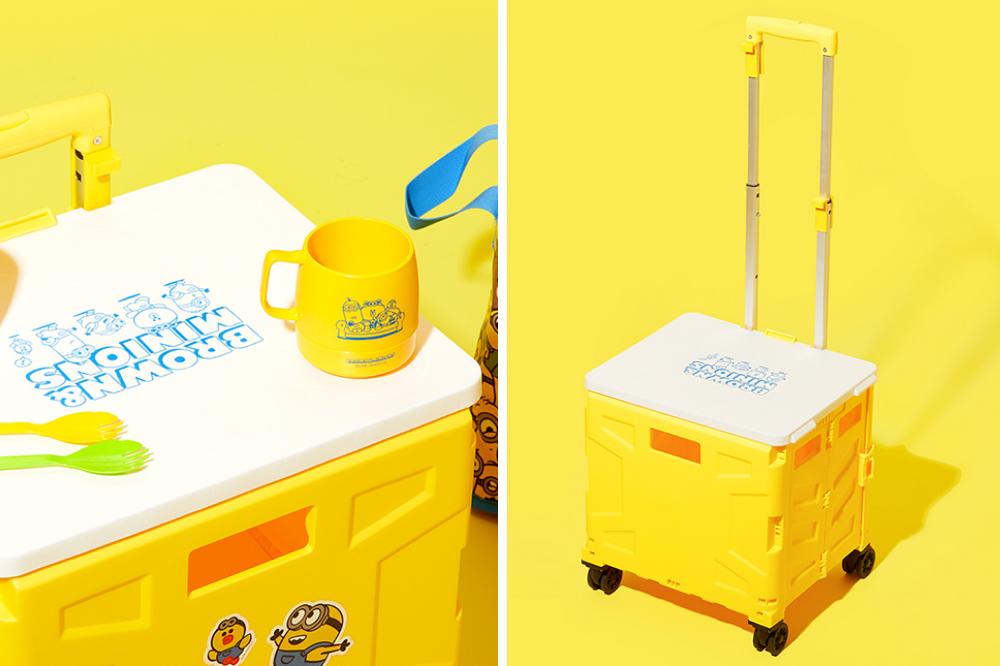 minions line friends - minion crate