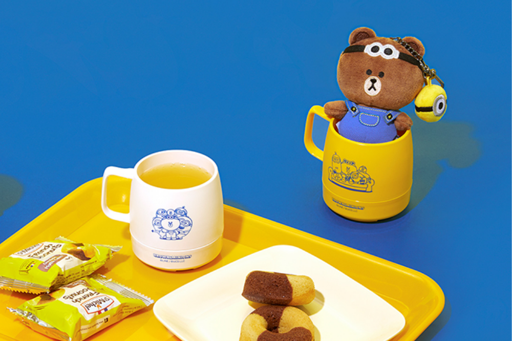 minions line friends - minions and line friends cup