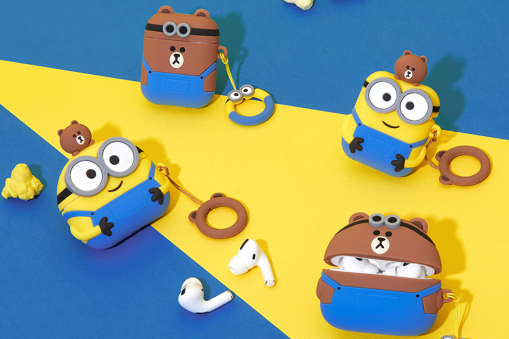minions airpods cases