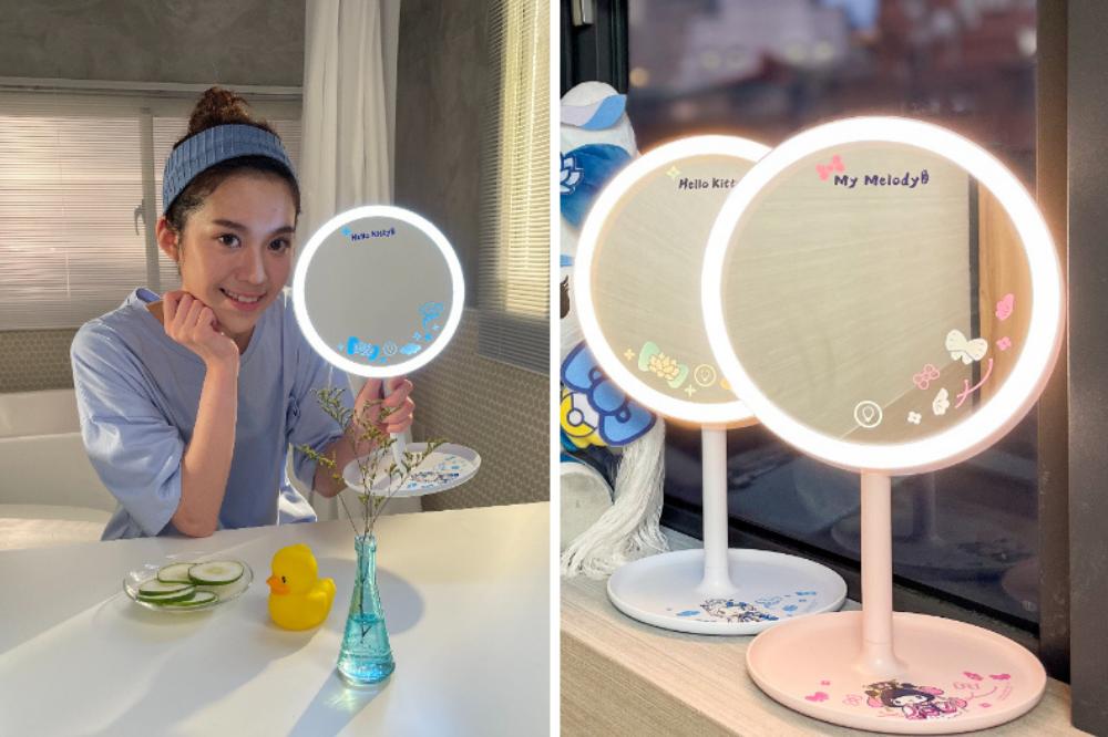 sanrio mirror