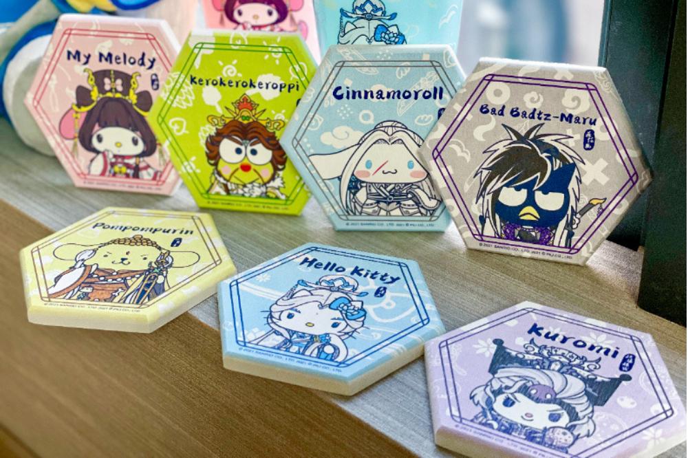 sanrio coasters