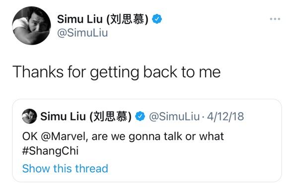 Simu Liu Facts And News