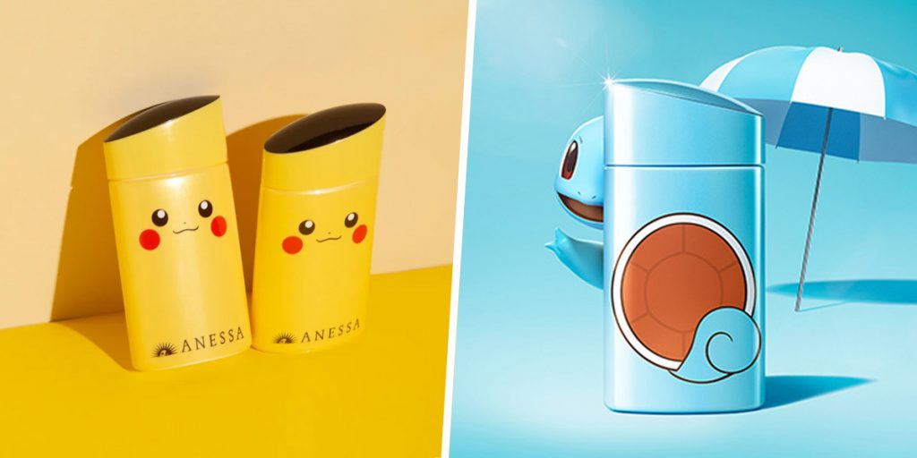 ANESSA x Pokemon
