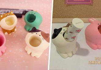 Animal Lipstick Holders