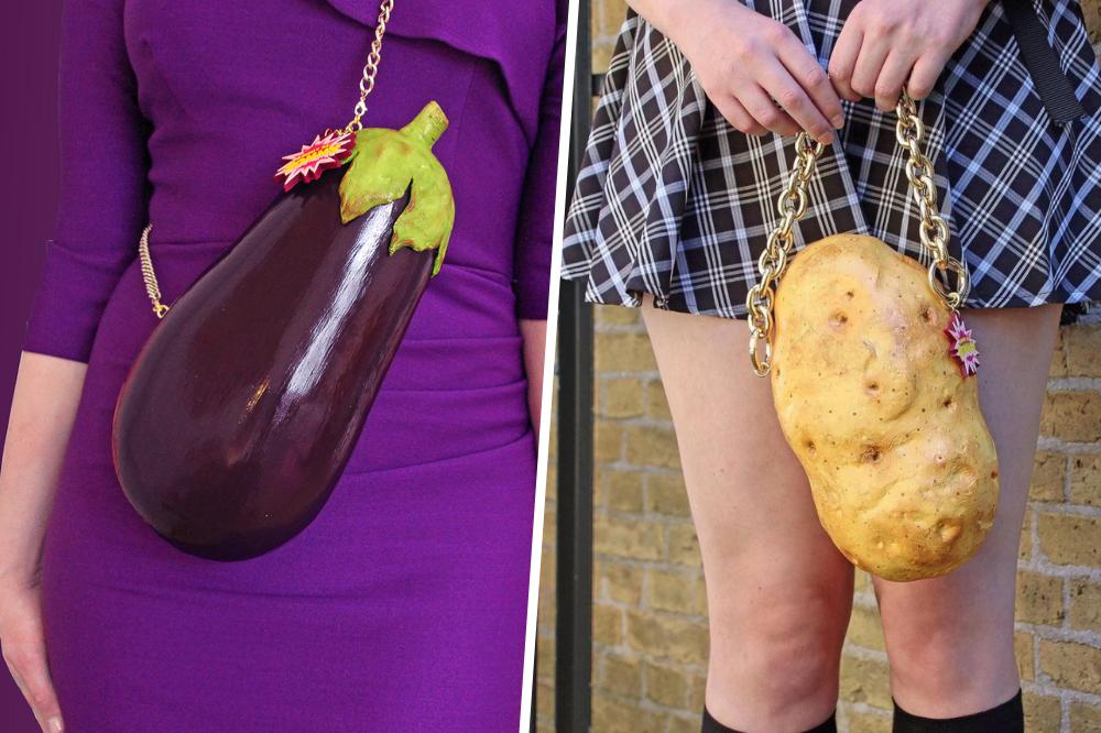egg plant and potato bag