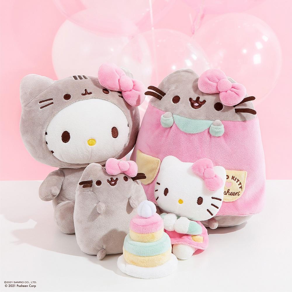 Hello Kitty x Pusheen