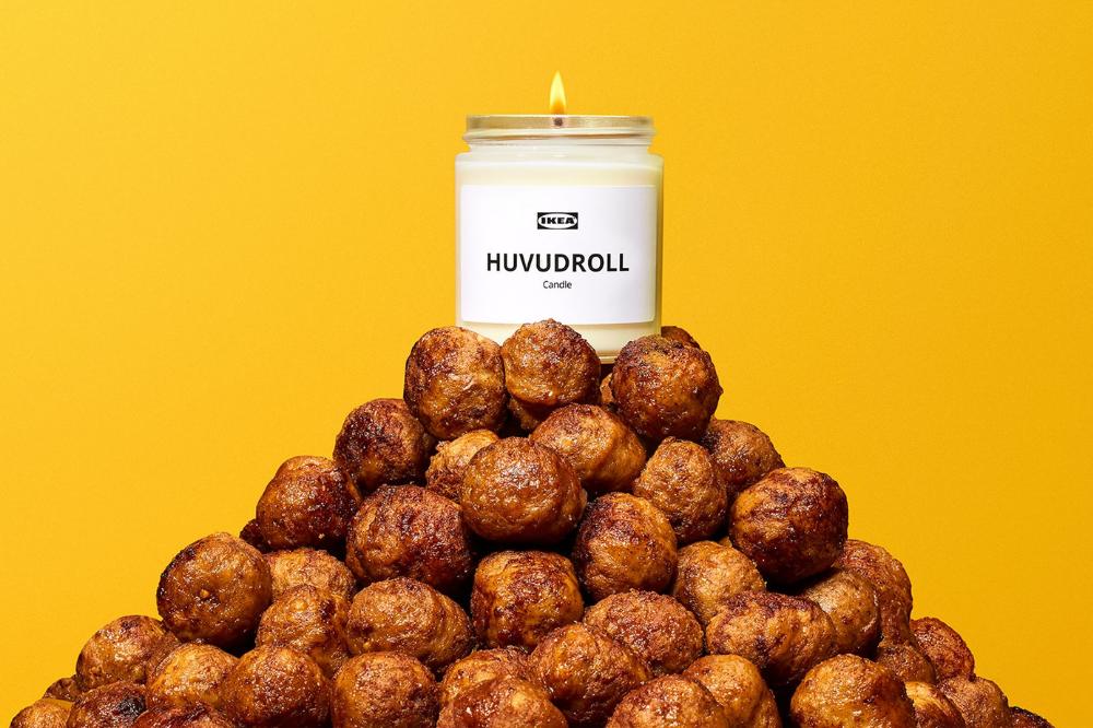 meatball candle