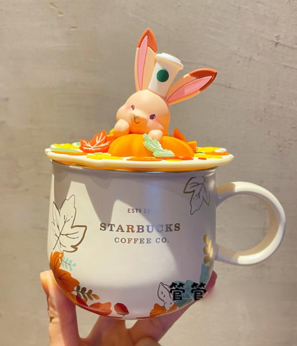 starbucks bunny mug