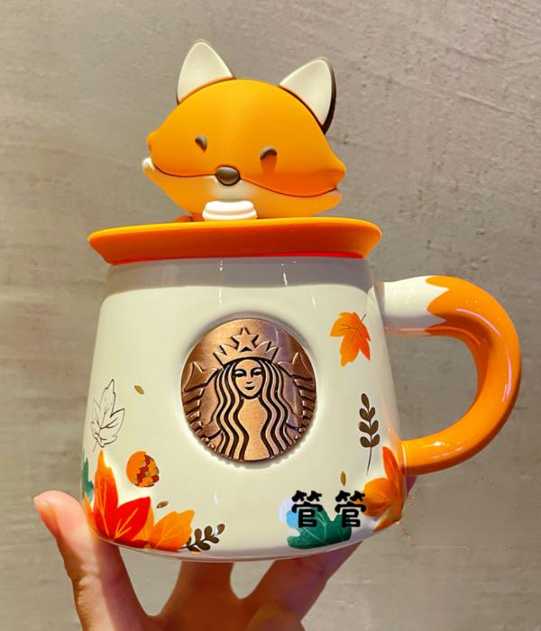 starbucks fox mug