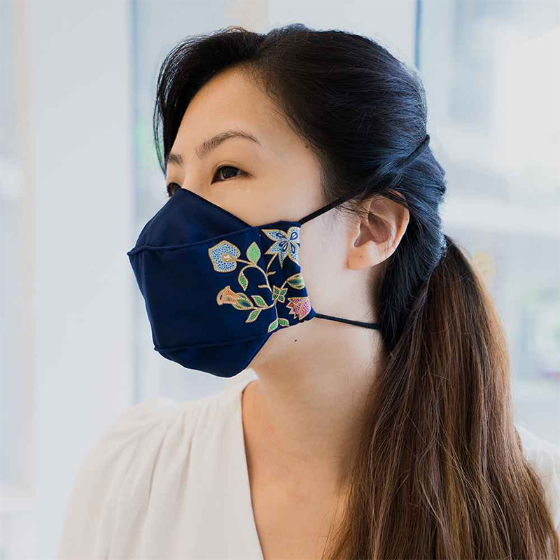 Singapore Airlines face mask