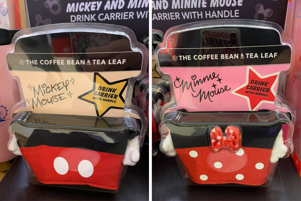 Mickey & Minnie Drink Carriers