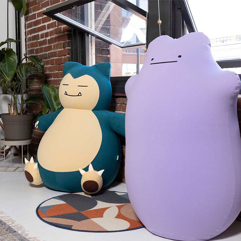 snorlax and ditto