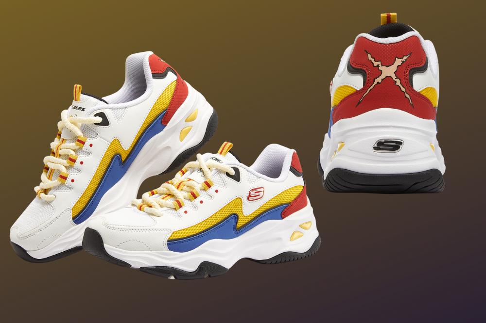 skechers x one piece sneakers