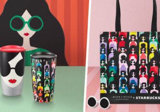 starbucks alice and olivia collection