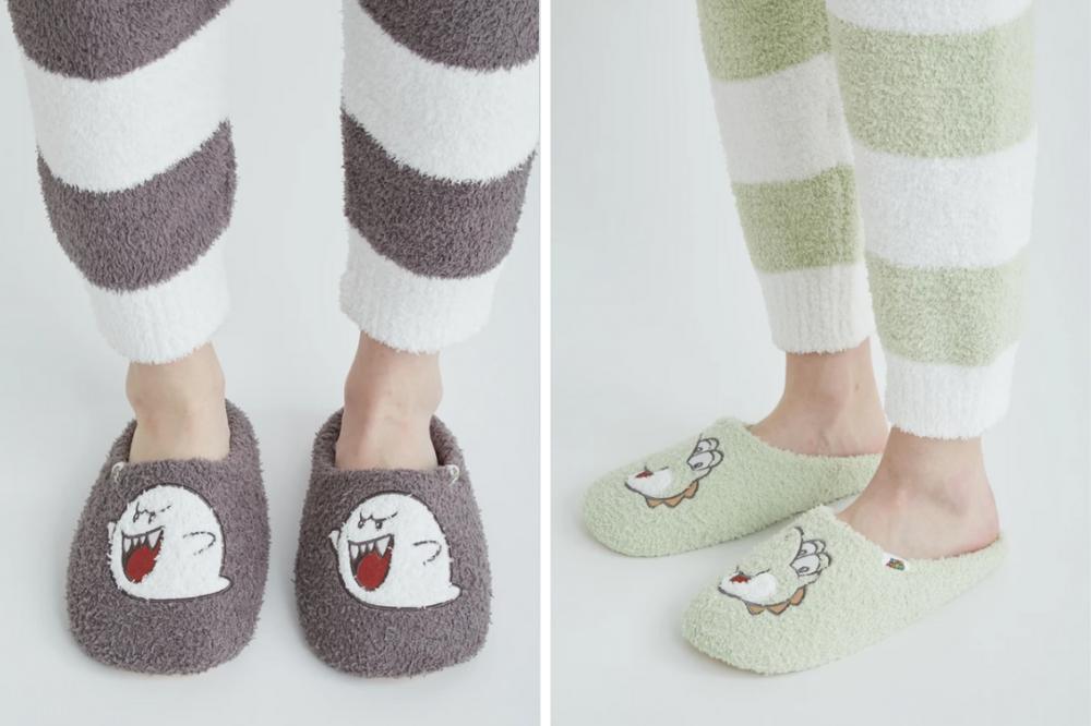 yoshi bedroom slippers
