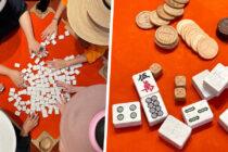 sustainable mahjong set