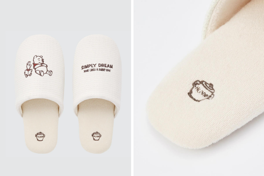 Winnie the pooh bedtime slippers