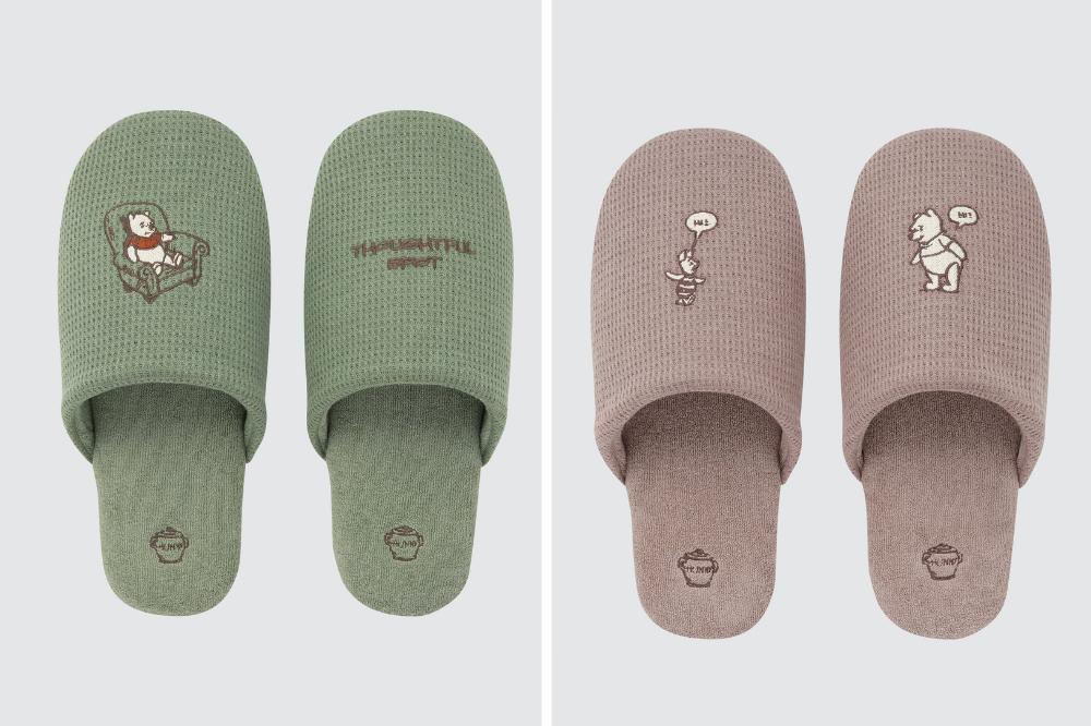pooh bear slippers