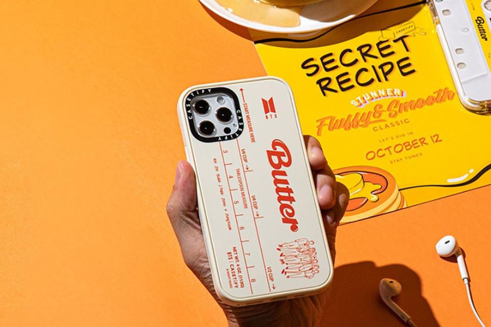 BTS butter phone case