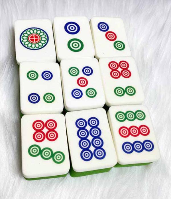 dots mahjong sponge