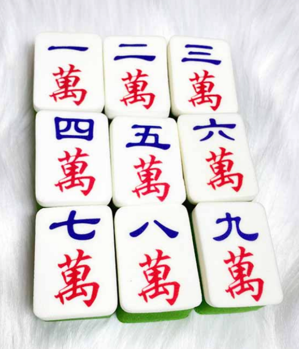 chinese characters beauty sponges