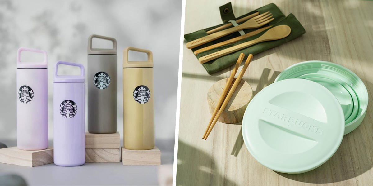 starbucks eco-friendly items