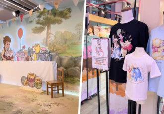 Winnie The Pooh Pop-Up Store